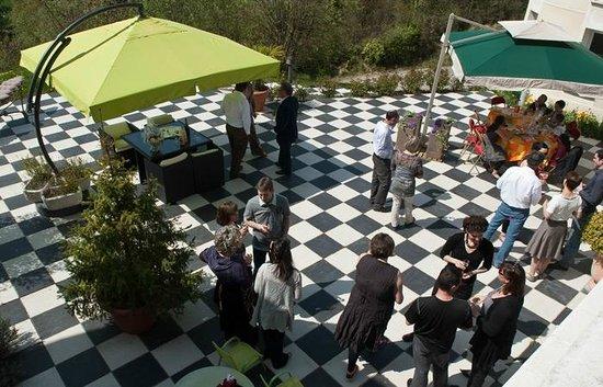 Le Vert Galant : La terrasse