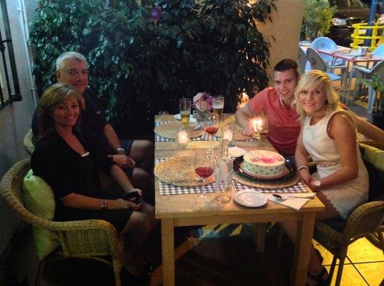 La Tangerine: Happy birthday