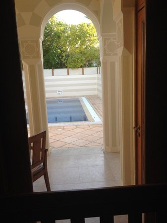 The Oberoi Sahl Hasheesh: View from inside