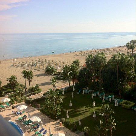SENTIDO Amaragua: View from room 652.