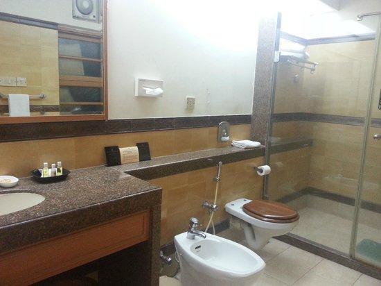 Cricket Club of India: washroom