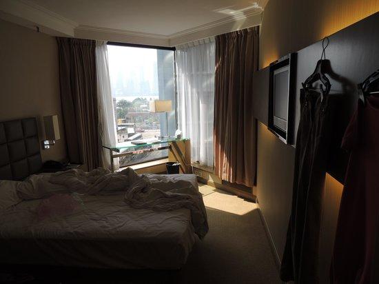 The Kowloon Hotel : Zimmer und Aussicht