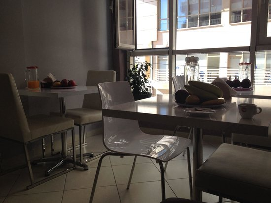 Center Rooms Oresti: Breakfast