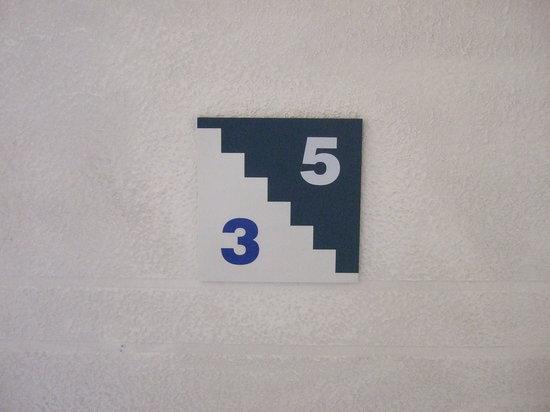 Nock Cheon Hotel: 縁起担ぎか「4」階がない