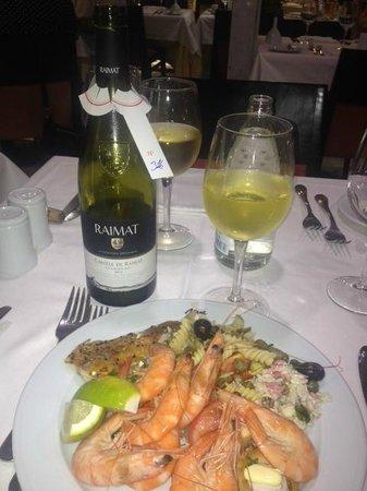 MUR Hotel Neptuno Gran Canaria: Frugal dinner