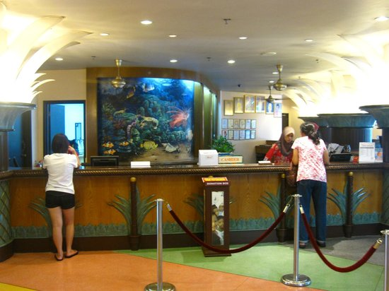 Resorts World Kijal : Reception Area