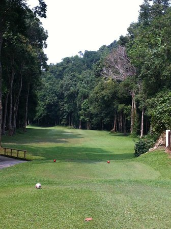 Resorts World Kijal : At the golf course