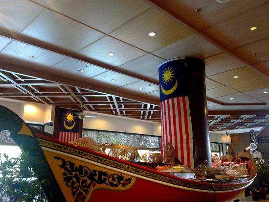 Resorts World Kijal: Breakfast area