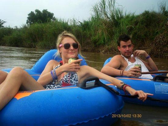 Chiang Mai Tubing and Beach Club: Chillin