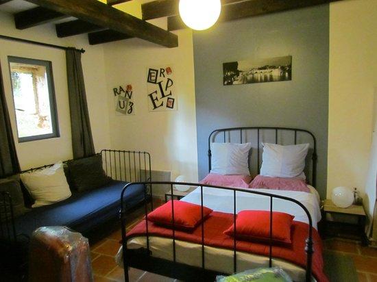 Le Clos de la Fontaine - Massay Gites et Chambres d'Hotes : Bedroom