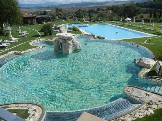 Hotel Adler Thermae Spa & Relax Resort: questo è stata la prima foto scattata al mio arrivo