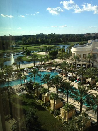 Waldorf Astoria Orlando : View from our room