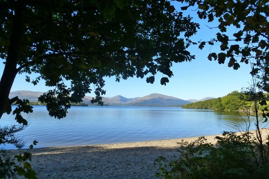 Tambowie Farm: Loch Lomond, from the eastern shore