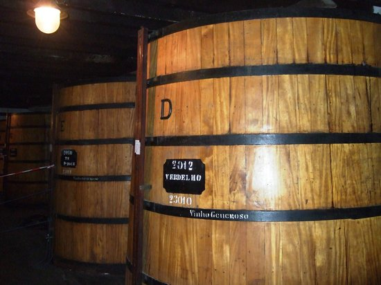 Blandy's Wine Lodge: Wine ageing in the barrels