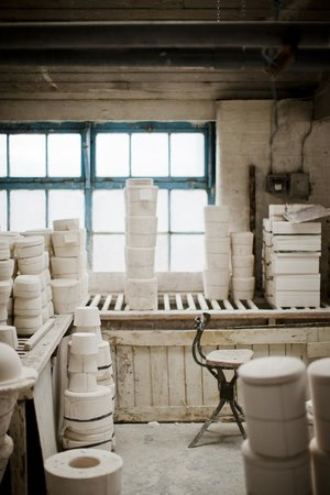 Middleport Pottery - Home of Burleigh: Bench casting