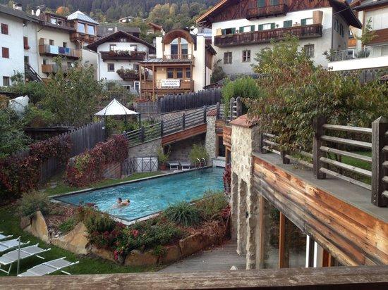 Hotel Taubers Unterwirt : La vista dalla nostra stanza