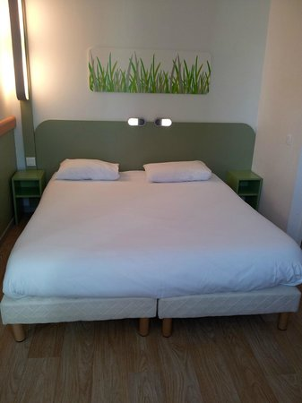 Ibis Budget Belfort Centre : chambre double