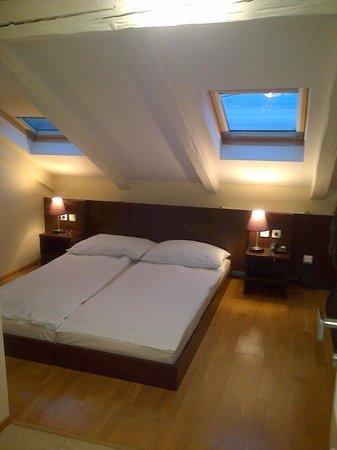 Hotel Trevi: La habitación abuhardillada