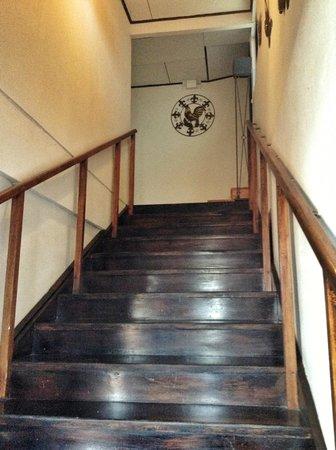 Hostel Sabana: Stairway