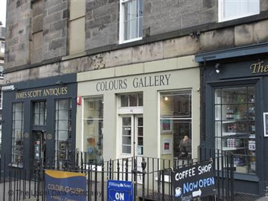 Colours Gallery: Excellent Gallery in the heart of the New Town