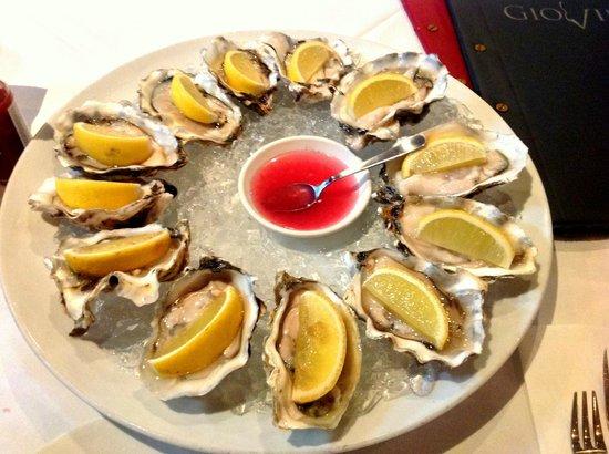 Giovino Restaurant : New Zealand oyster is very good!