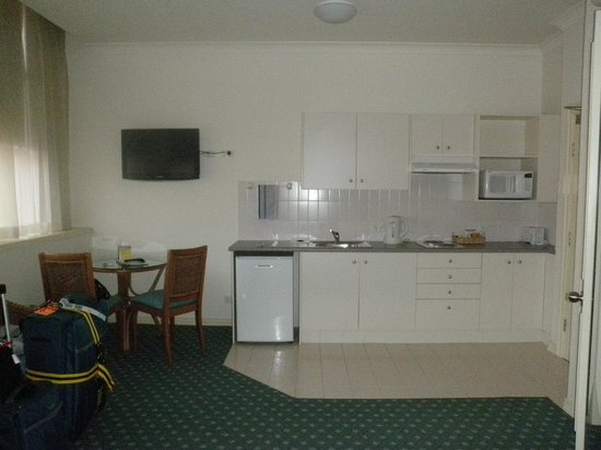 Anderledy Lodge : large suite with kitchen