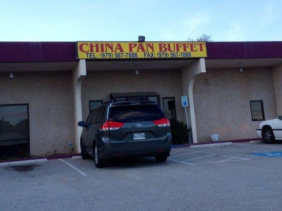 China Pan Buffet: Entrance