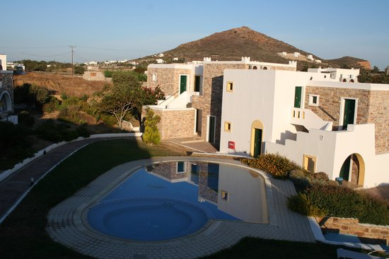 Naxos Palace Hotel: view from room