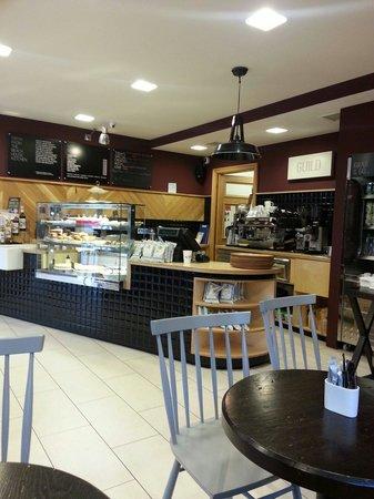 Cafe Guild: Lovely surroundings.