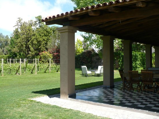 Posada Verde Oliva: Outdoor space