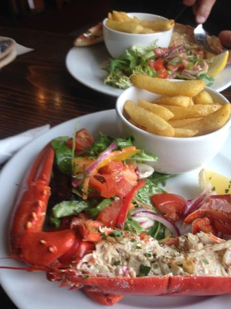 Applecross Inn: As delicious as it looks.