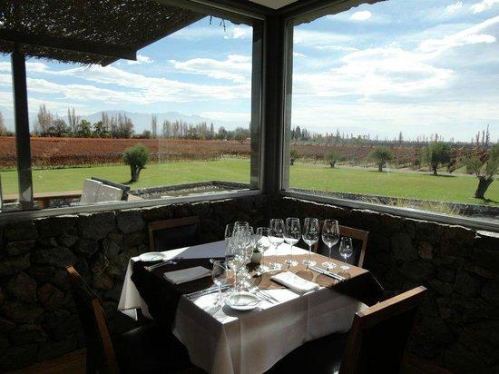 Bodega Melipal: Nossa mesa!