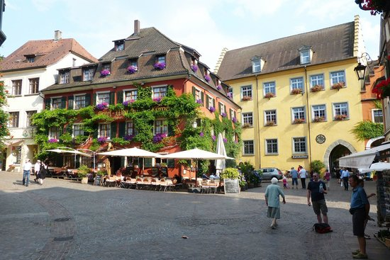 Hotel-Pension Rothmund : Marktplatz, upper town