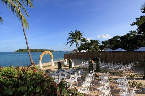 Nora Beach Resort and Spa: The Wedding Setting