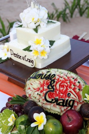 Nora Beach Resort and Spa: The Wedding Cake