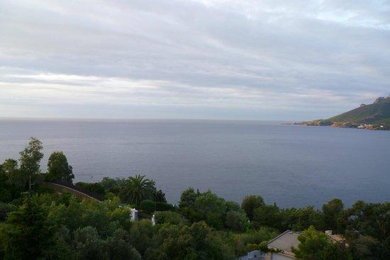 Hôtel Tiara Yaktsa Côte d'Azur : Grandioser Blick
