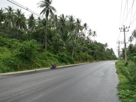 Chaweng Buri Resort: местная дорога
