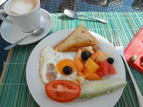 Fantastic breakfast at Pansion Skelin