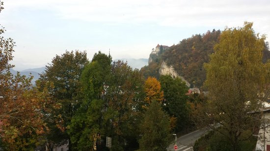 Hotel Astoria Bled: view from room 310