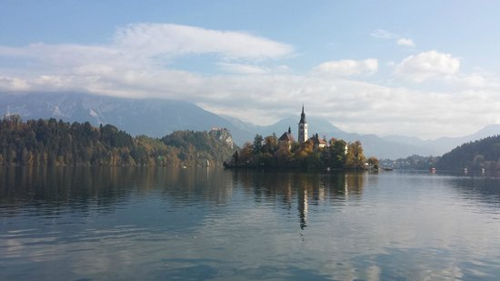 Hotel Astoria Bled: island and castle
