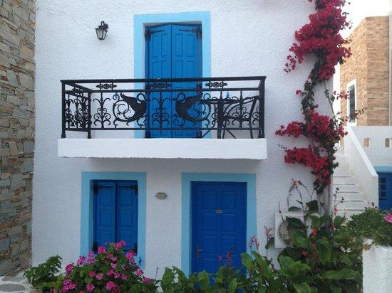 Naxos Holidays Bungalows Apartments: Bouwstijl van Naxos