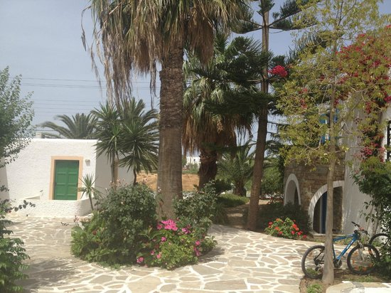 Naxos Holidays Bungalows Apartments: Verzorgd terrein