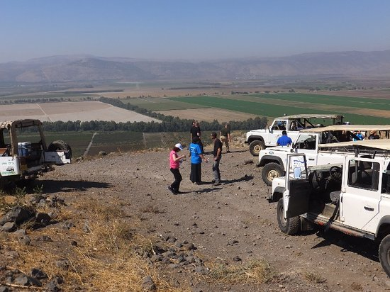 Galilee Jeep: Overlooking the Galilee