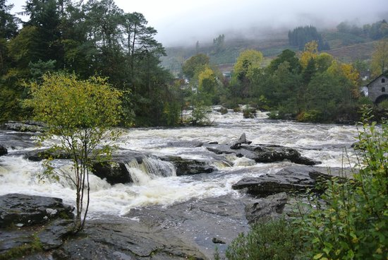 The Falls of Dochart Inn: The view from....