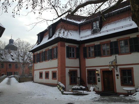 Hotel Brudermühle: Frontseite des Hotels