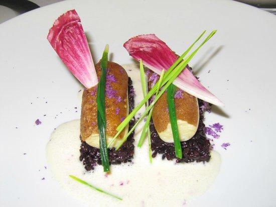 Restaurant Greuze : quenelles de sandre