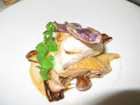 Restaurant Greuze: poularde de bresse