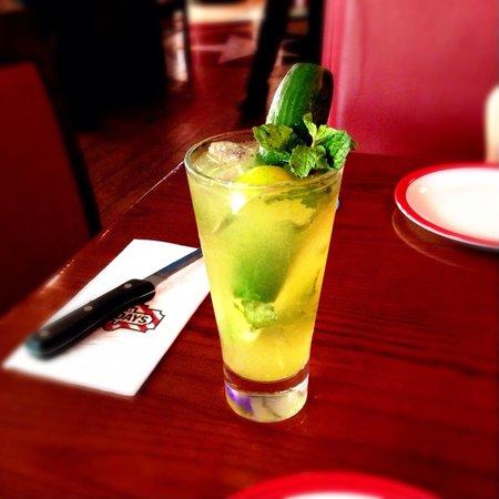 TGI Friday's: Delicious cucumber mojito . Must-have