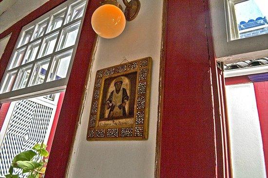 Cafe Geraes: Detalhe interno