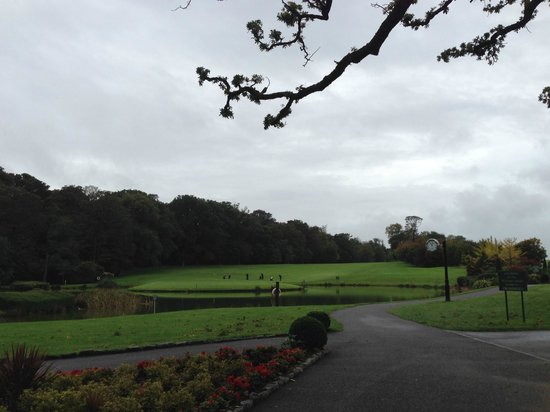 Fota Island Resort : The 9th Hole at the Deerpark Course - Fota Island